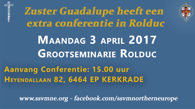 Conferenties-zuster Guadalupe-Rolduc